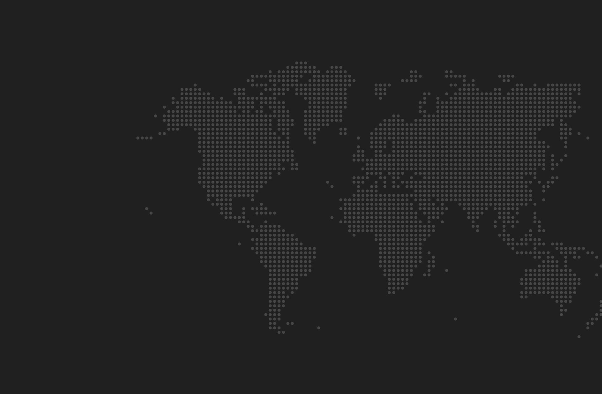 Mapa países de distribución